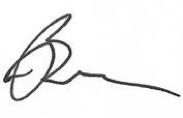 Brian Epstein signature